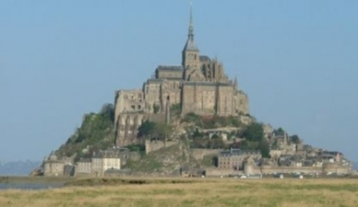 Mont St. Michel ve Francii